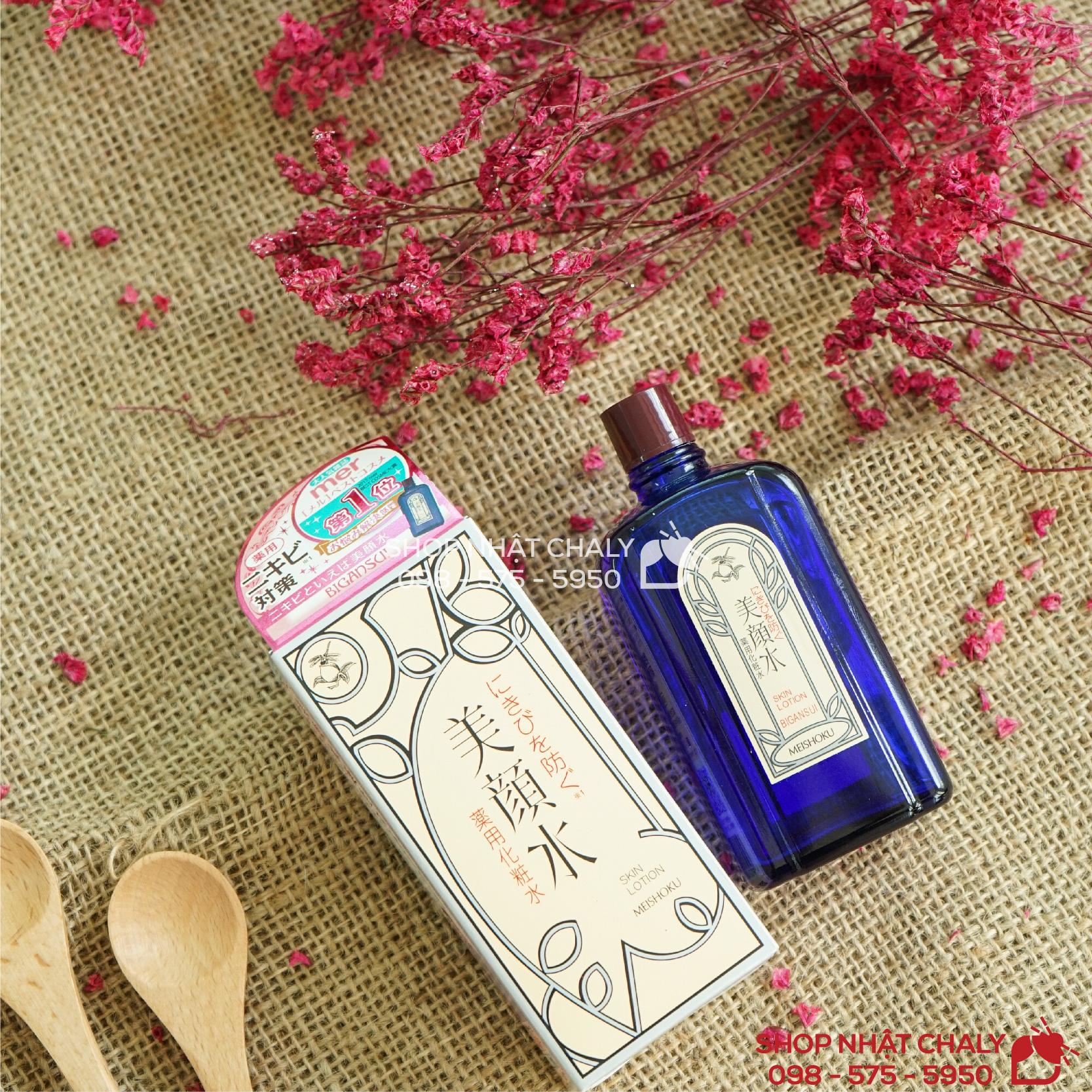 Nước hoa hồng trị mụn thần thánh của Nhật Skin Lotion Bigansui Medicated 90ml được với hàng nghìn review trên Cosme, luôn đứng số 1 Cosme về nước hoa hồng trị mụn
