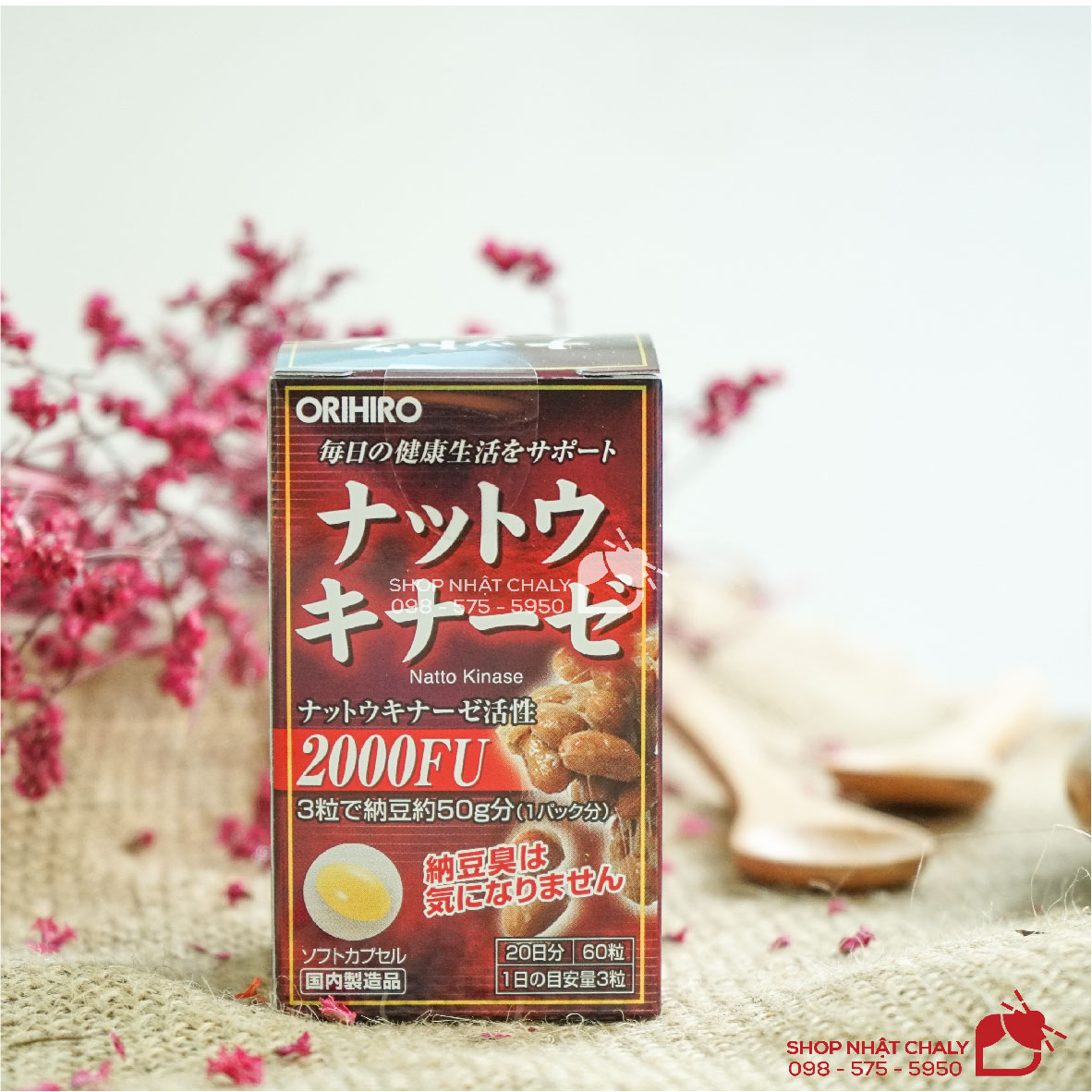 Thuốc nattokinase Nhật Bản cung cấp hàm lượng nattokinase 2000fu giúp chống đột quỵ và tai biến ở người lớn