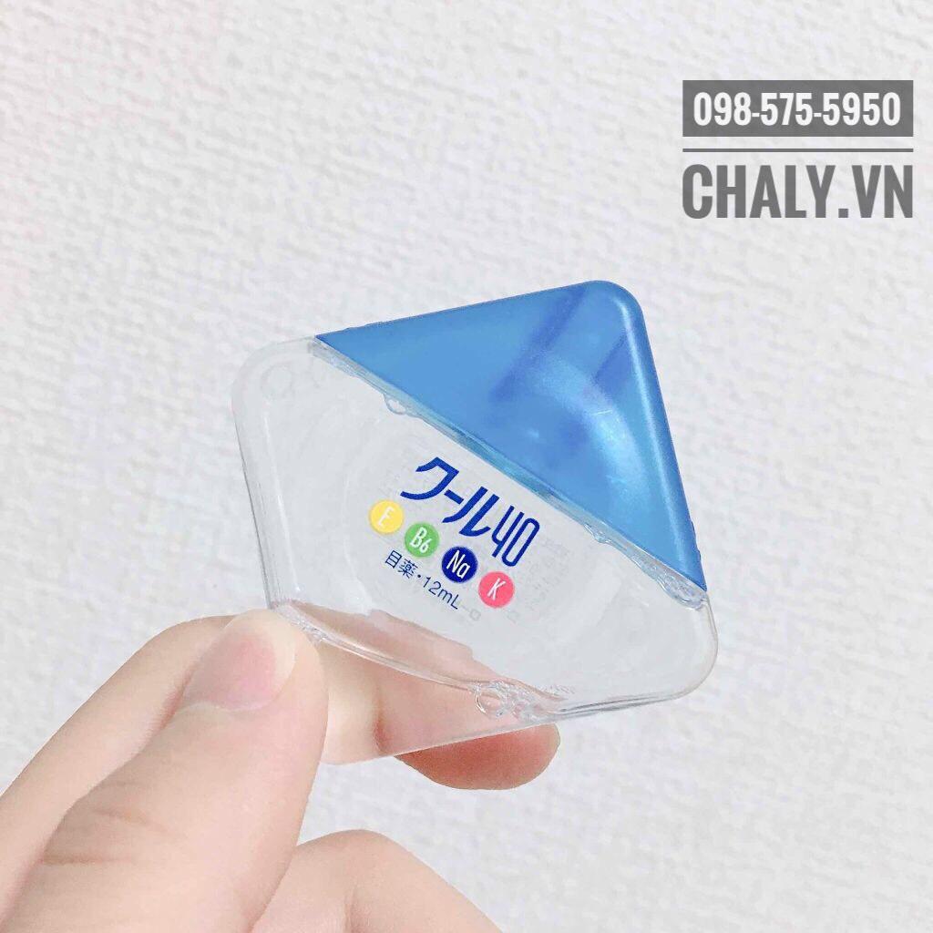 Chai thuốc nhỏ mắt Rohto màu xanh hàng nội địa Nhật xách tay, sản xuất và bán tại Nhật cho người Nhật với tiêu chuẩn chất lượng cao nhất