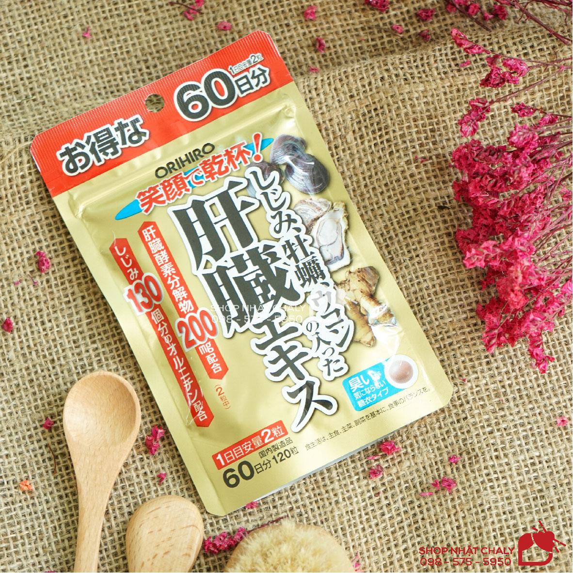 Thuốc mát gan của Nhật Orihiro 120 viên là sản phẩm thải độc gan, bổ gan thận được ưa chuộng nhất hiện nay