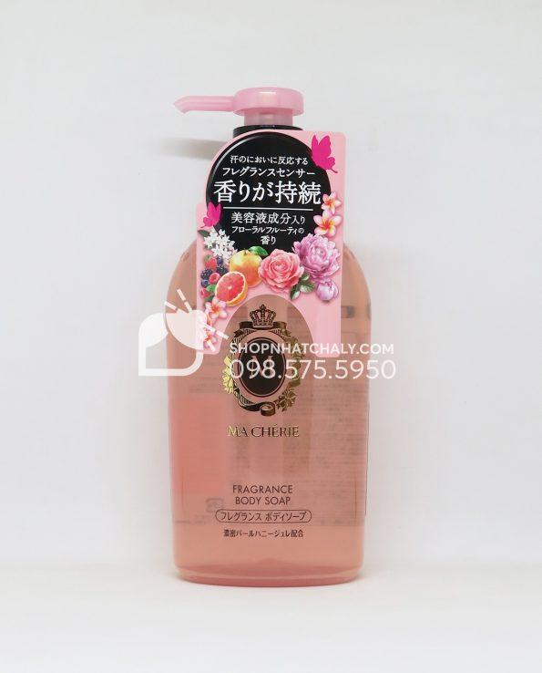 Sữa tắm Shiseido Macherie Fragrance Body Soap 450ml Nhật Bản