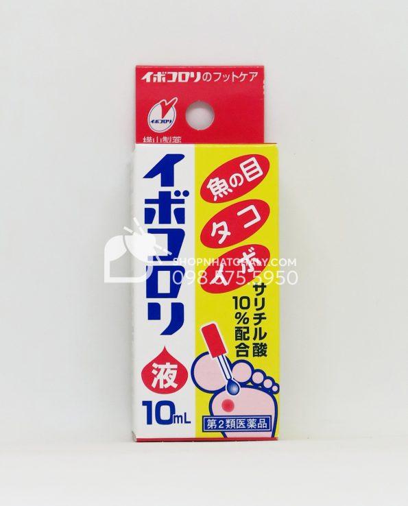 Thuốc trị mắt cá, mụn cóc, chai sần Ibokorori Nhật Bản