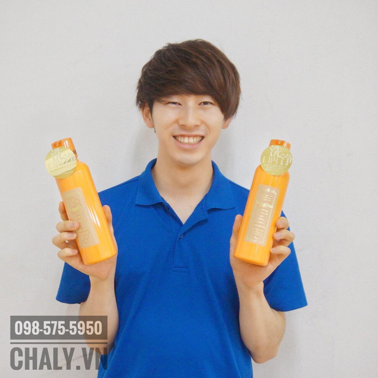 Người dùng Nhật Bản rất yêu thích nước súc miệng Propolinse chính hãng từ nhiều năm nay, bất kể nam nữ, người già trẻ em
