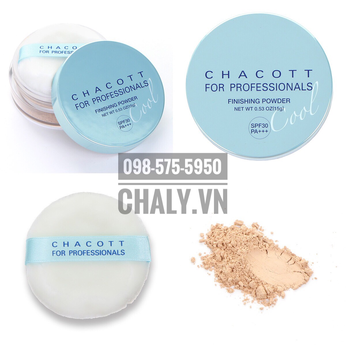 Phấn chống nắng nào tốt? Chắc chắn hè 2019 thì không thể không thử dùng em phấn kiềm dầu mới tinh Chacott UV finishing powder cool này được !