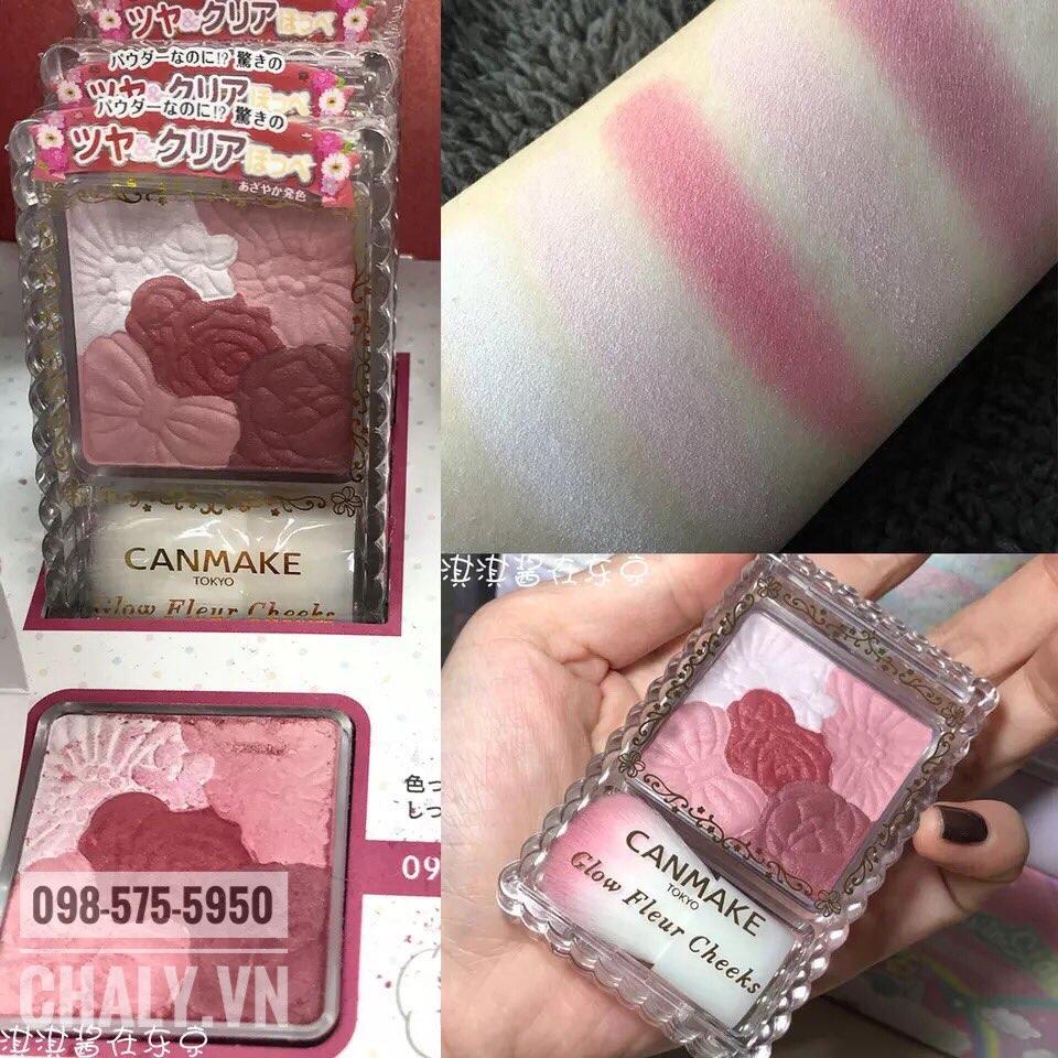 Phấn má hồng Canmake của Nhật màu 09 Burgundy hot nhất