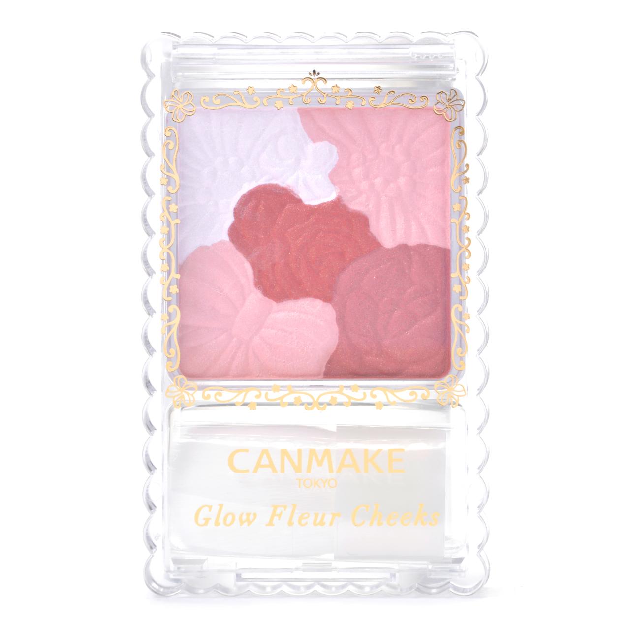 Không phải canmake glow fleur cheeks 01 hay 02 mà phấn má canmake glow fleur cheeks 09 burgundy mới là màu hot nhất