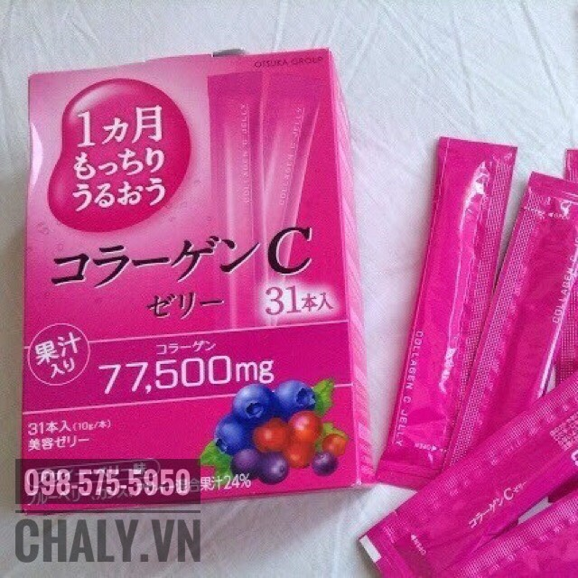 Thạch Otsuka collagen c jelly review: Tôi dùng thì cải thiện 2 vấn đề rõ rệt nhất là các vùng da sừng hoá do UV và đi lại dễ dàng hơn hẳn dù tôi đã 60 tuổi