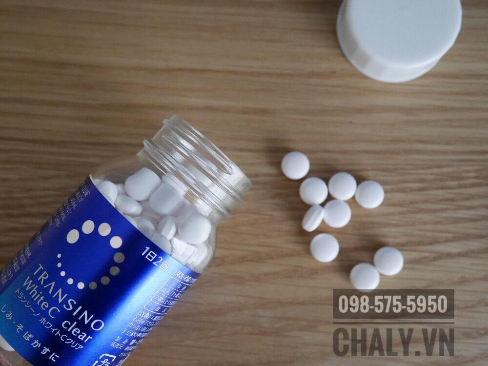 Thuốc trị nám nhật bản Transino White C Clear mẫu mới 2019 dạng viên nén