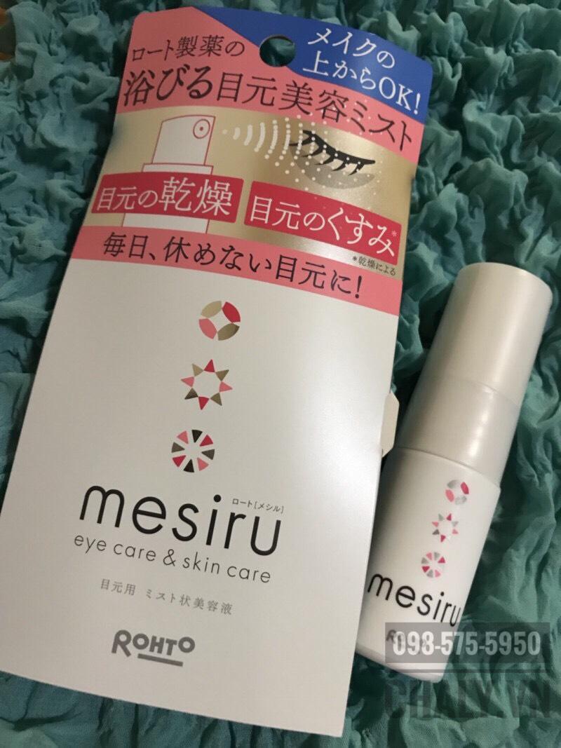 Kem mắt của Nhật Bản kiêm dưỡng mi Mesiru dùng cực hiệu quả, cảm nhận rõ sau khoảng 1 tháng