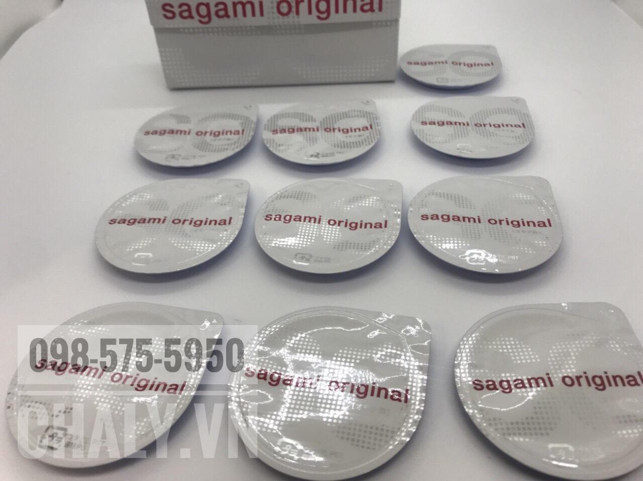Đây là hộp bao cao su nhật bản sagami 0.02 mm hộp lớn