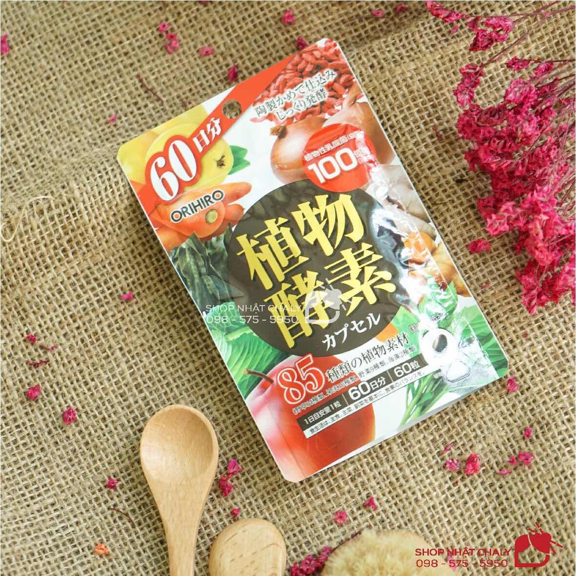 Viên rau củ Orihiro dang enzyme là sản phẩm bổ sung rau củ quả cao cấp, rất được ưa chuộng tại Nhật nhờ thành phần ưu tú