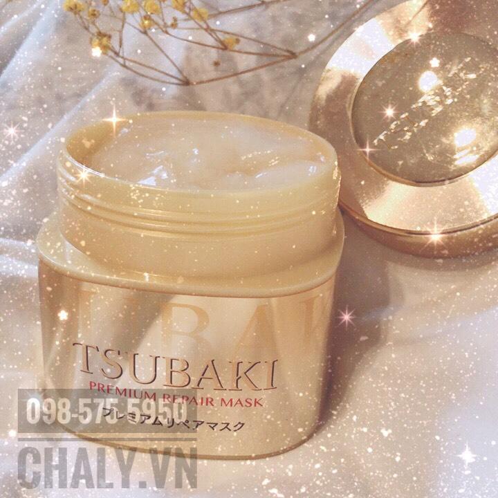 Với thành phần dưỡng tóc chuyên sâu rất ưu việt, Shiseido Tsubaki premium repair hair mask có thể dùng như dầu ủ phục hồi tóc của Nhật cũng rất hiệu quả
