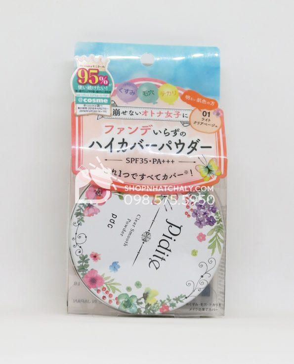 Phấn phủ dẻo Pidite Clear Smooth Powder Nhật