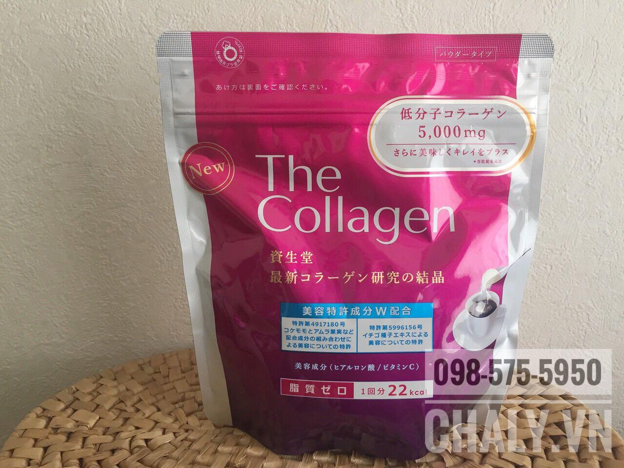 Sản phẩm The collagen Nhật Bản dạng bột của Shiseido là collagen bột của Nhật được yêu thích nhiều năm qua