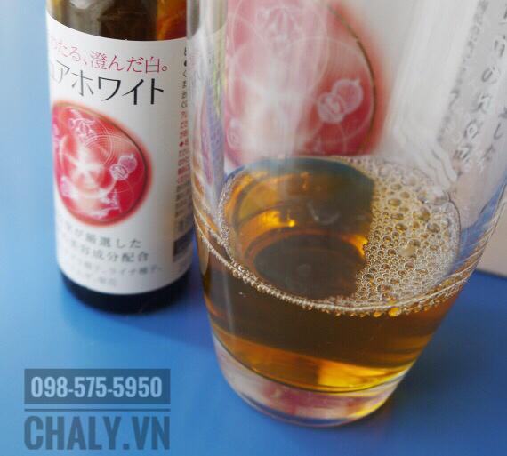 Nước uống trắng da shiseido pure white có vị trái cây ngon dễ uống, được chị em Nhật Bản và toàn châu Á yêu thích
