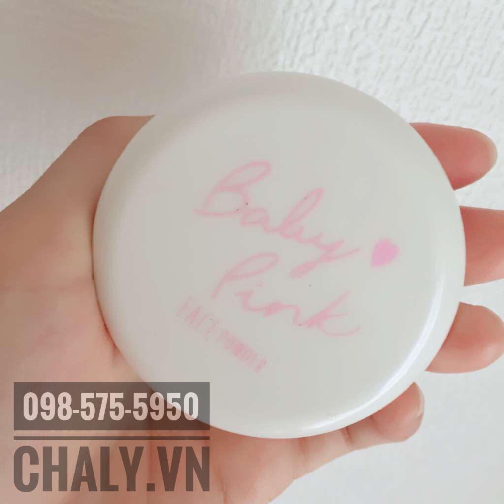 Phấn phủ baby pink review: bao bì dễ thương, chất lượng tốt, gấp nhiều lần so với giá thành. Đáng để mua