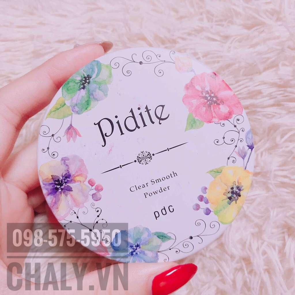 Giá phấn dẻo Pidite của Nhật bình dân nhưng thu về được hũ phấn đẹp từ bao bì tới hiệu quả thì quả thực hoàn toàn đáng đồng tiền bát gạo