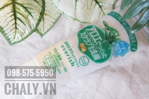 Sữa rửa mặt Everish Utena Nhật 1 tuýp 2 công dụng: Sữa rửa mặt và Kem tẩy tế bào chết dạng scrub