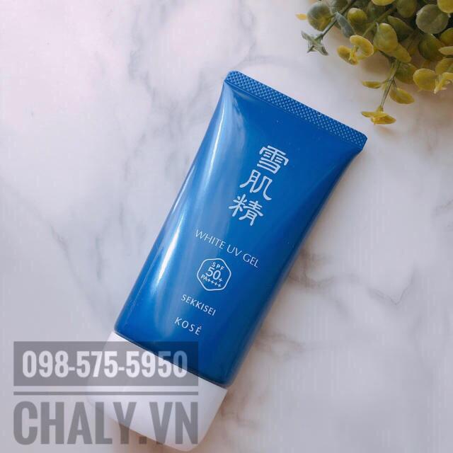 Kem chống nắng kose sekkisei gel phù hợp với da khô hơn là da dầu nhé