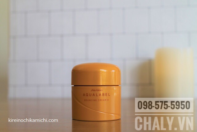 Review shiseido aqualabel vàng: Phù hợp với da thường tới da khô. Không hợp da dầu