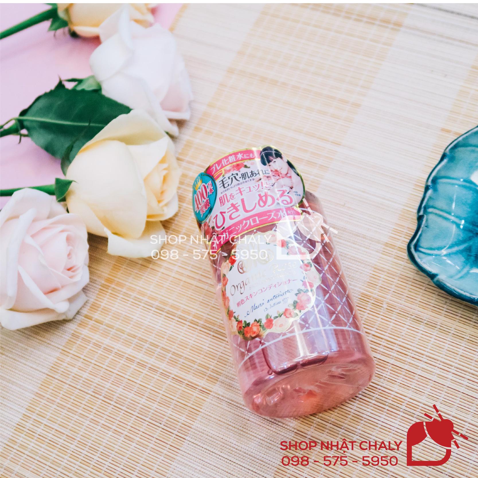 Nước hoa hồng Organic Rose sở hữu tới hơn 4500 review khen ngợi trên Cosme Japan, là dòng toner đỉnh nhất của hãng Meisoku Nhật Bản