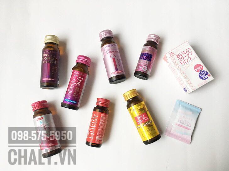 Nước uống the collagen ex shiseido review: Mình thấy so với the collagen thường thì dòng này dùng rất ổn. Nếu ai tầm 40 trở lên thì uống the collagen enriched nhé