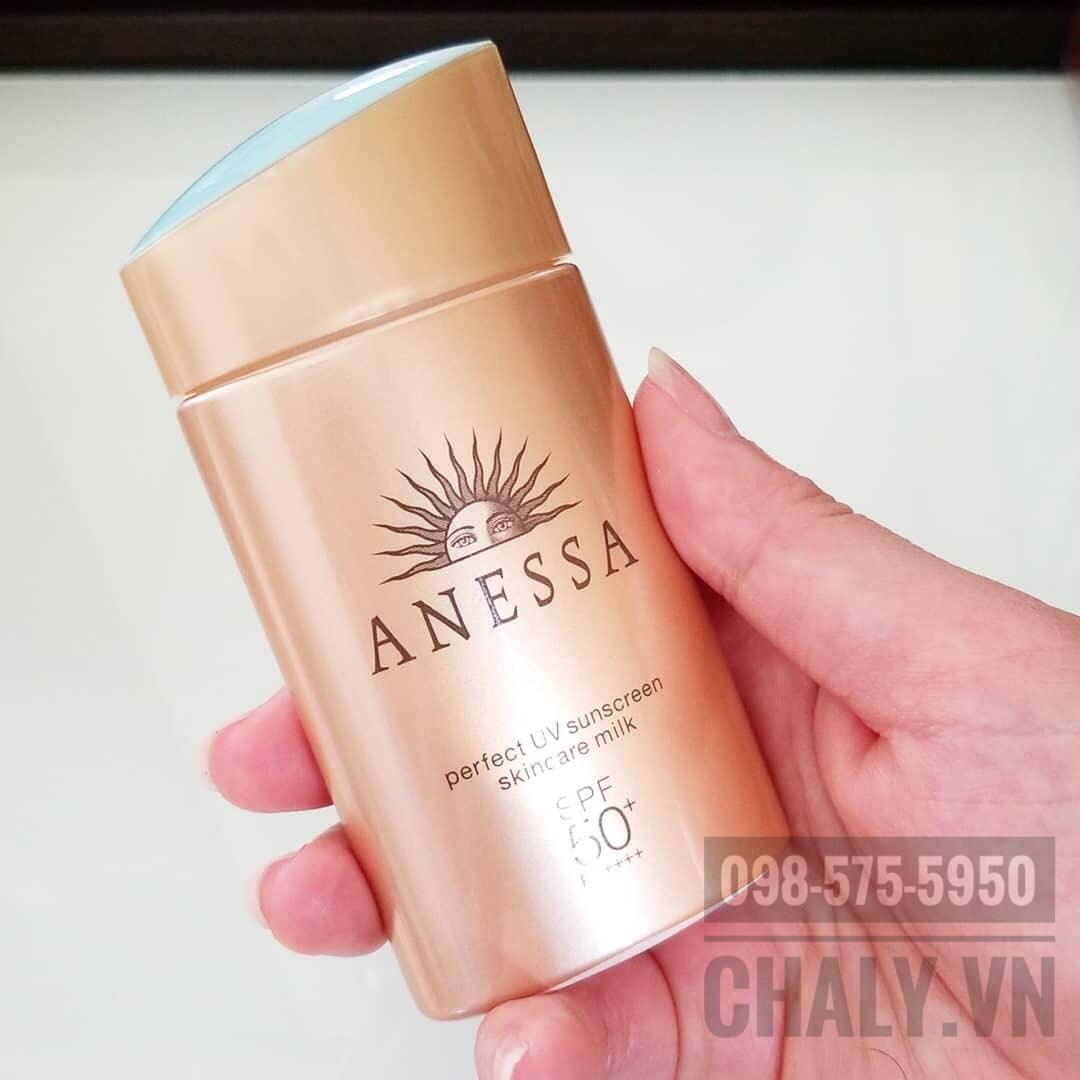 Kem chống nắng nhật anessa skincare milk 2019 này là sản phẩm mình yêu thích nhất, hợp da thiên khô của mình vô cùng
