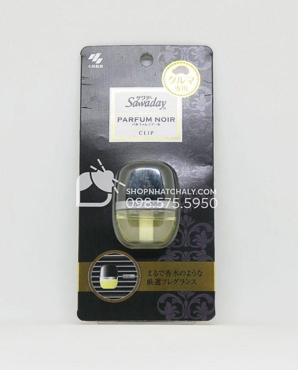 Nước hoa ô tô cao cấp Sawaday Parfum Noir Nhật Bản