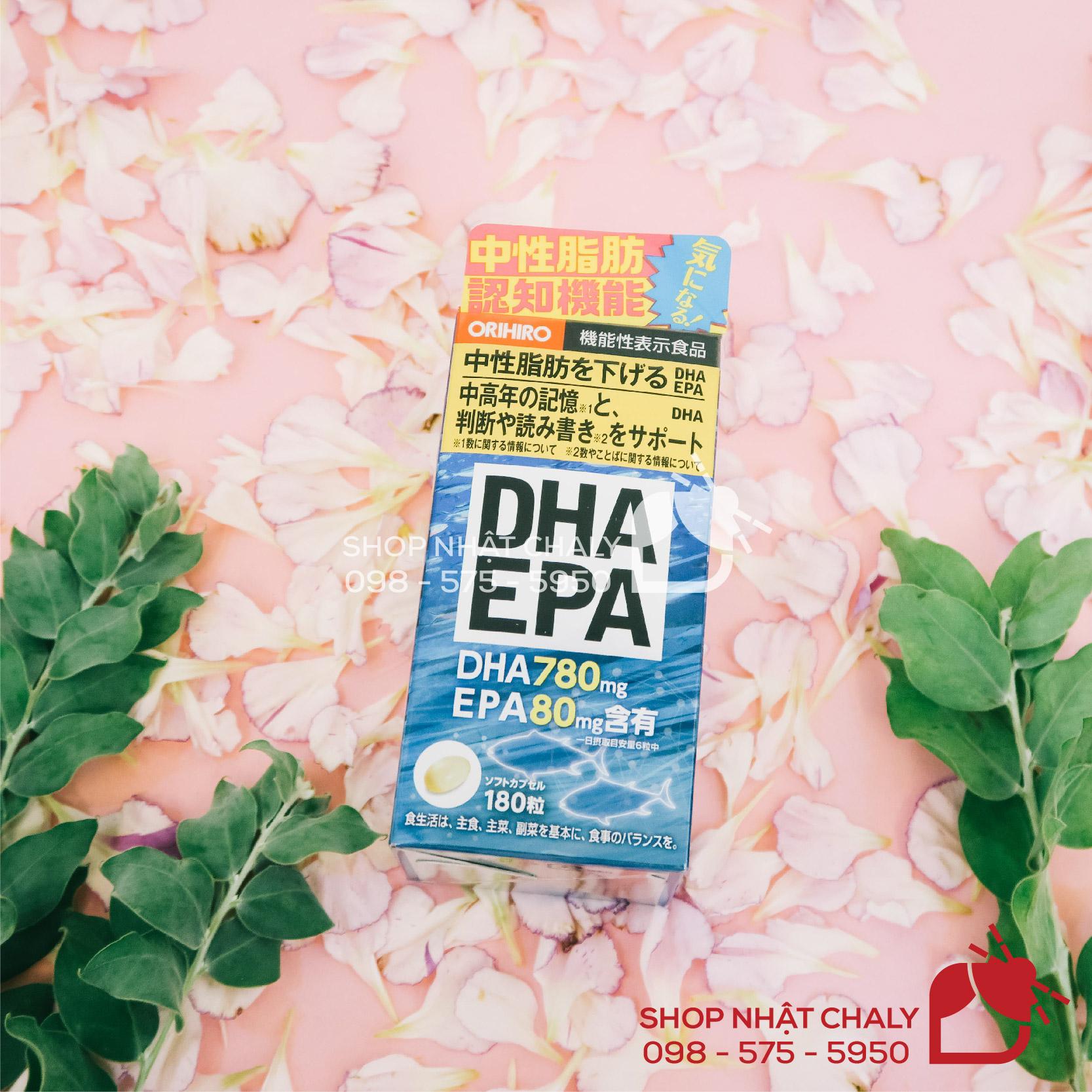 Thuốc bổ não Nhật Bản DHA & EPA của Orihiro được review cao, mang lại hiệu quả tốt cho não bộ và hệ thần kinh, đồng thời giảm mỡ máu