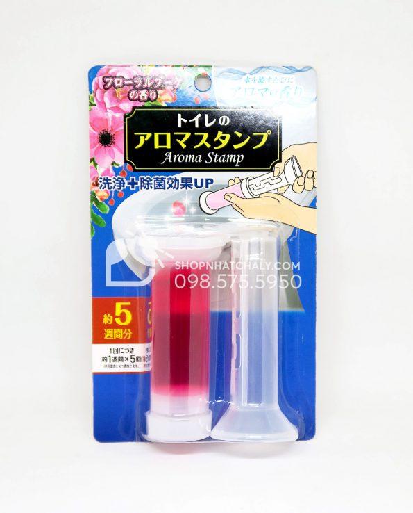 Gel tẩy bồn cầu Nhật Bản hương hoa