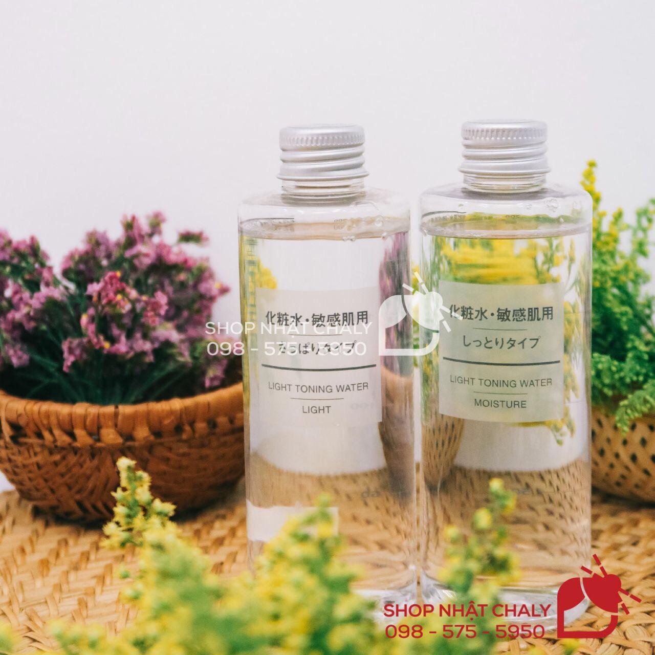 Muji toner của Nhật có 2 loại là nước hoa hồng Muji cho da dầu và nước hoa hồng Muji cho da khô đều được review cực cao, an toàn tuyệt đối cho da mẫn cảm