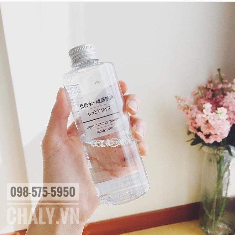 Nước hoa hồng Muji có mấy loại? Lotion Muji có toner muji cho da dầu và nước hoa hồng light toning water moisture cho da khô. Cả 2 đều đảm bảo tiêu chí 4 không siêu lành tính
