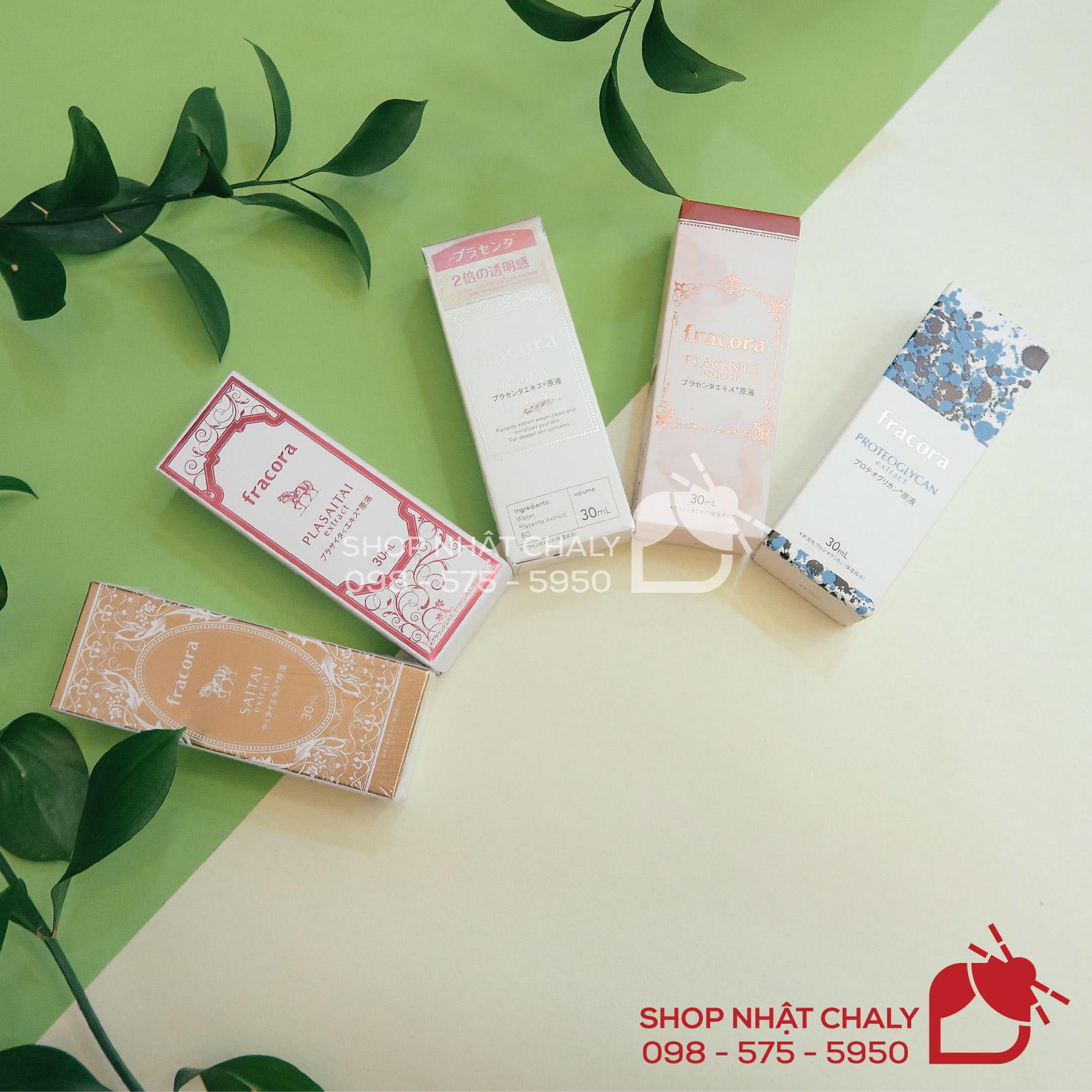 5 serum chống lão hoá của Fracora Japan