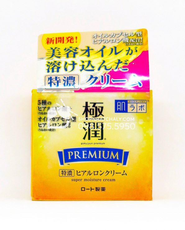 Kem chống lão hoá cấp ẩm chuyên sâu Gokujyun Premium Super Hyaluronic Cream 50g
