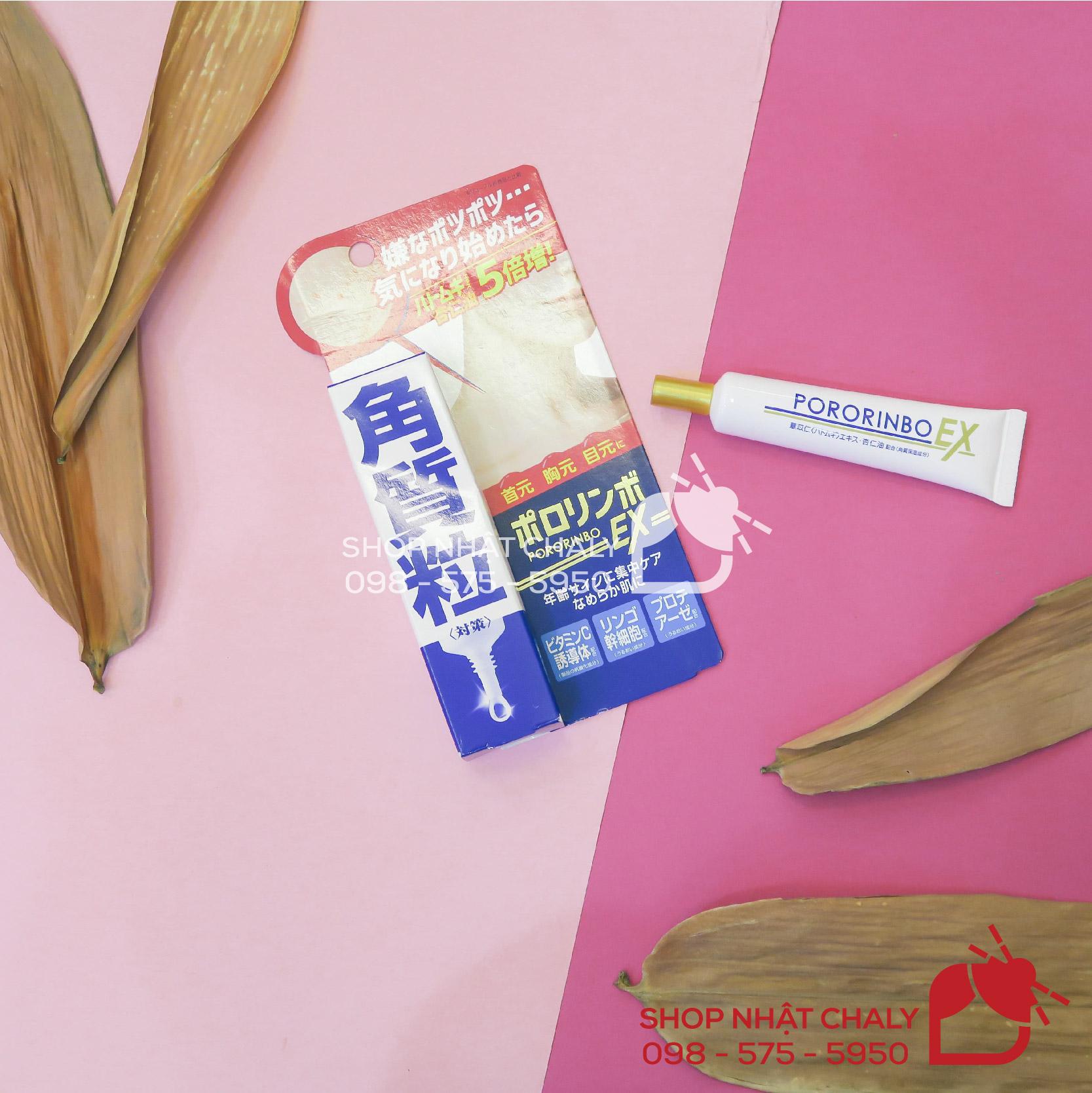 Thuốc bôi trị mụn thịt Nhật Bản Pororinbo ex là sản phẩm phổ biến được các hiệu thuốc tại Nhật giới thiệu sử dụng rất nhiều