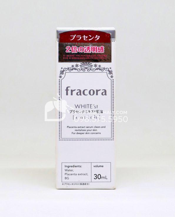 Serum nhau thai Fracora White'st Placenta Extract Enrich 30ml Nhật