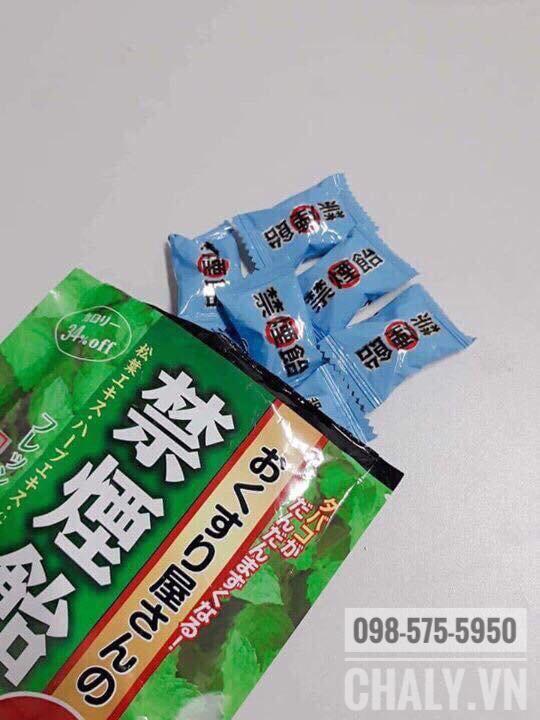 Mỗi gói kẹo cai thuốc 70g dùng được cỡ 1-2 tuần nếu hay thèm thuốc
