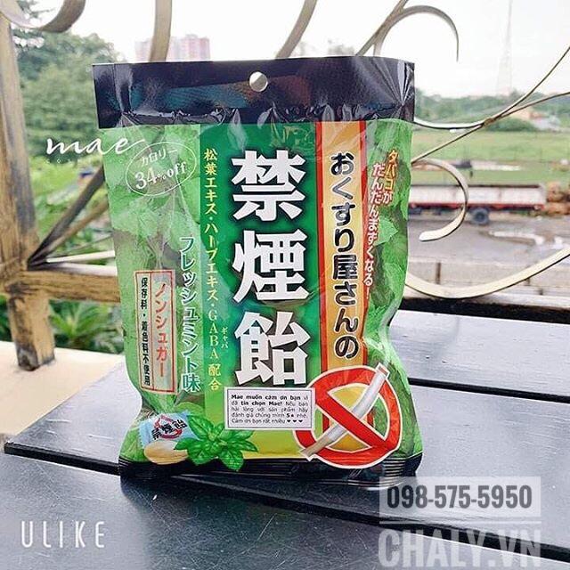 Kẹo ngậm bạc hà cai thuốc lá của Nhật là sản phẩm cai thuốc phổ biến, an toàn, hiệu quả được nhiều người lựa chọn