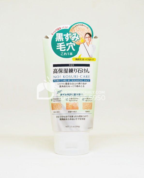 Sữa rửa mặt làm sạch se khít lỗ chân lông to SQS Kosuri Care của Nhật