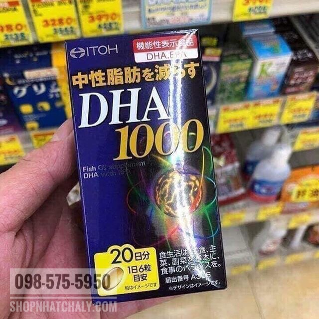 Trong các loại thuốc bổ não DHA Nhật mình đã mua thì mẹ mình nói viên Itoh DHA 1000s hiệu quả rõ nhất, mẹ mình ưng, dù hãng này không nổi tiếng bằng các hãng kia