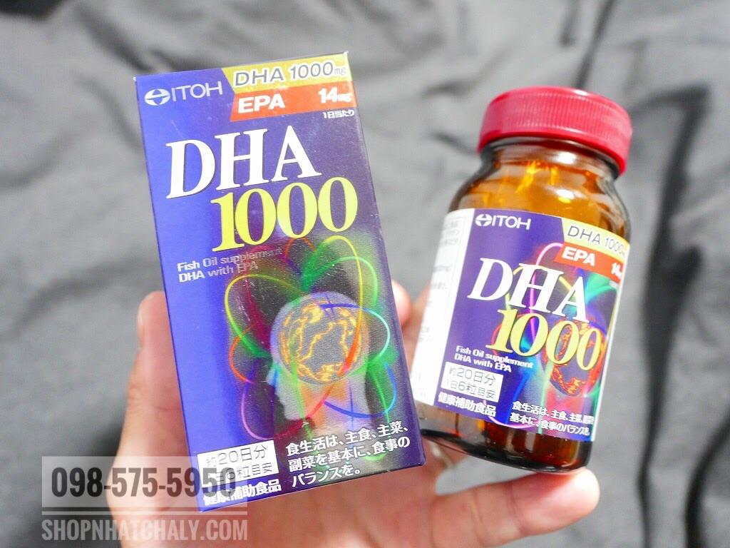 Bản thân tôi uống viên DHA 1000 thấy khoẻ mắt kinh khủng, khả năng tập trung cũng tăng đáng kể