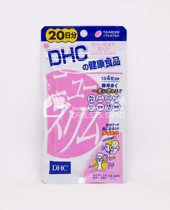 Viên uống giảm cân DHC New Slim 20 ngày Nhật Bản