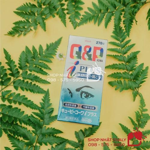 Viên uống bổ mắt Q&P Kowa của Nhật giúp cải thiện nhiều vấn đề về mắt, tốt cho người mắt yếu, làm việc căng thẳng