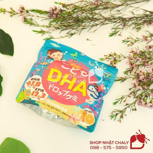 Viên kẹp DHA EPA của Unimat Riken là viên uống bổ sung DHA dành riêng cho trẻ em, giúp bé phát triển tối đa trí thông minh, đạt kết quả học tập tốt nhất