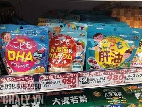 Mấy viên uống cho trẻ em của Unimat Riken Nhật đều tốt. Nhà mình dùng hết và ưng hết