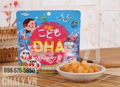 Mỗi gói viên uống bổ não DHA EPA cho bé gồm 90 viên dùng trong 30 ngày