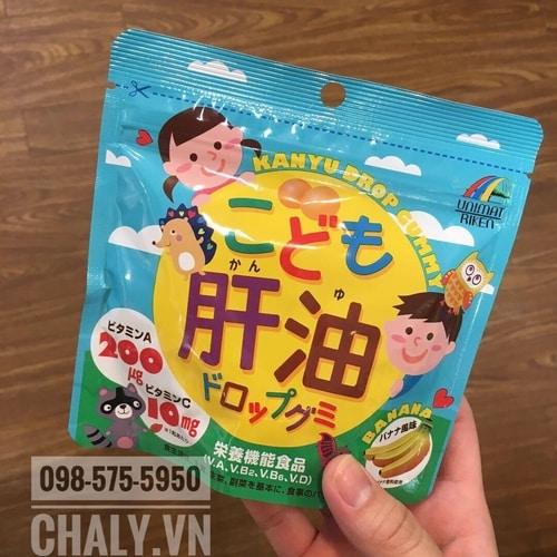 Mình cho con uống tầm chục gói dầu cá kanyu drop gummy cho trẻ em này rồi. Con kể ngồi học nhìn rõ hơn và mắt không bị mỏi như trước. Rất tốt