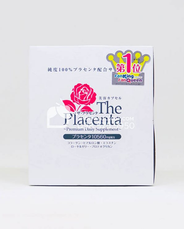 Viên nhau thai heo The Placenta Premium Daily Supplement Metabolic Nhật Bản