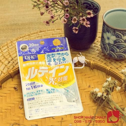 DHC lutein 20 viên 20 ngày là viên uống được nhiều người Nhật lựa chọn để bảo vệ mắt, chống lão hoá tế bào mắt và ngăn ngừa bệnh lý mắt về sau