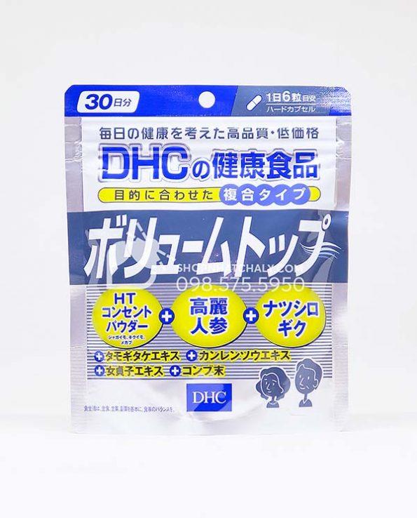 Viên uống trị rụng kích thích mọc tóc DHC Volume Top Nhật Bản